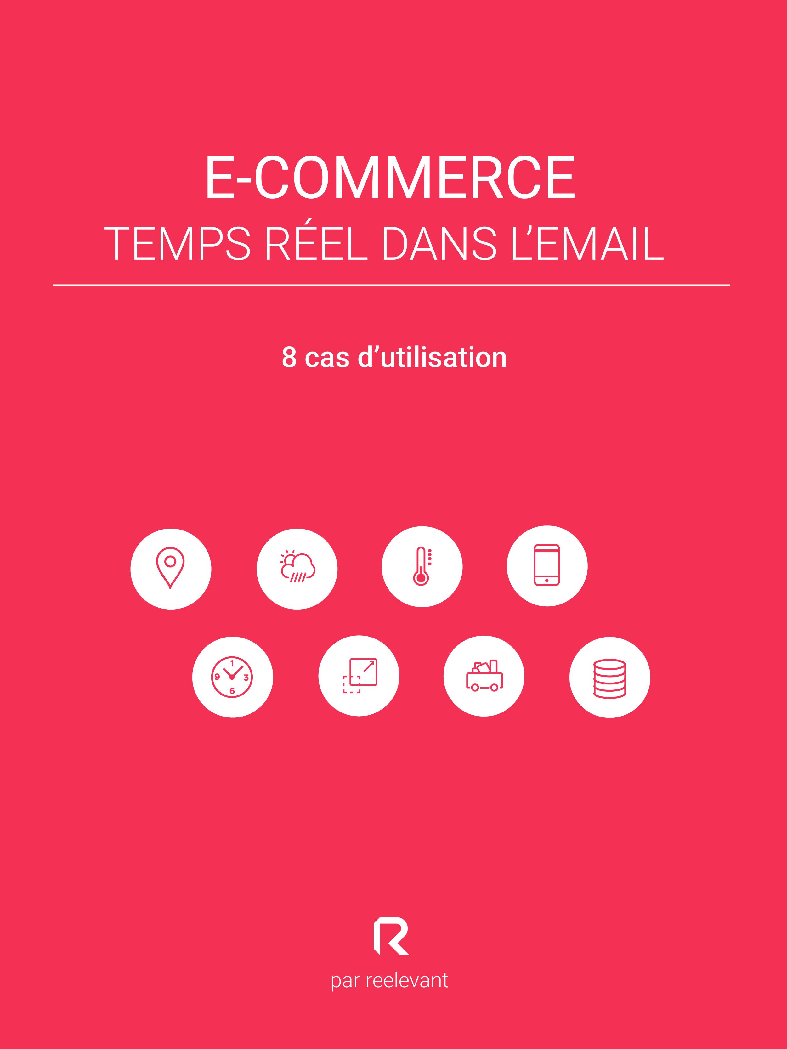 E-commerce : temps réel dans l'email