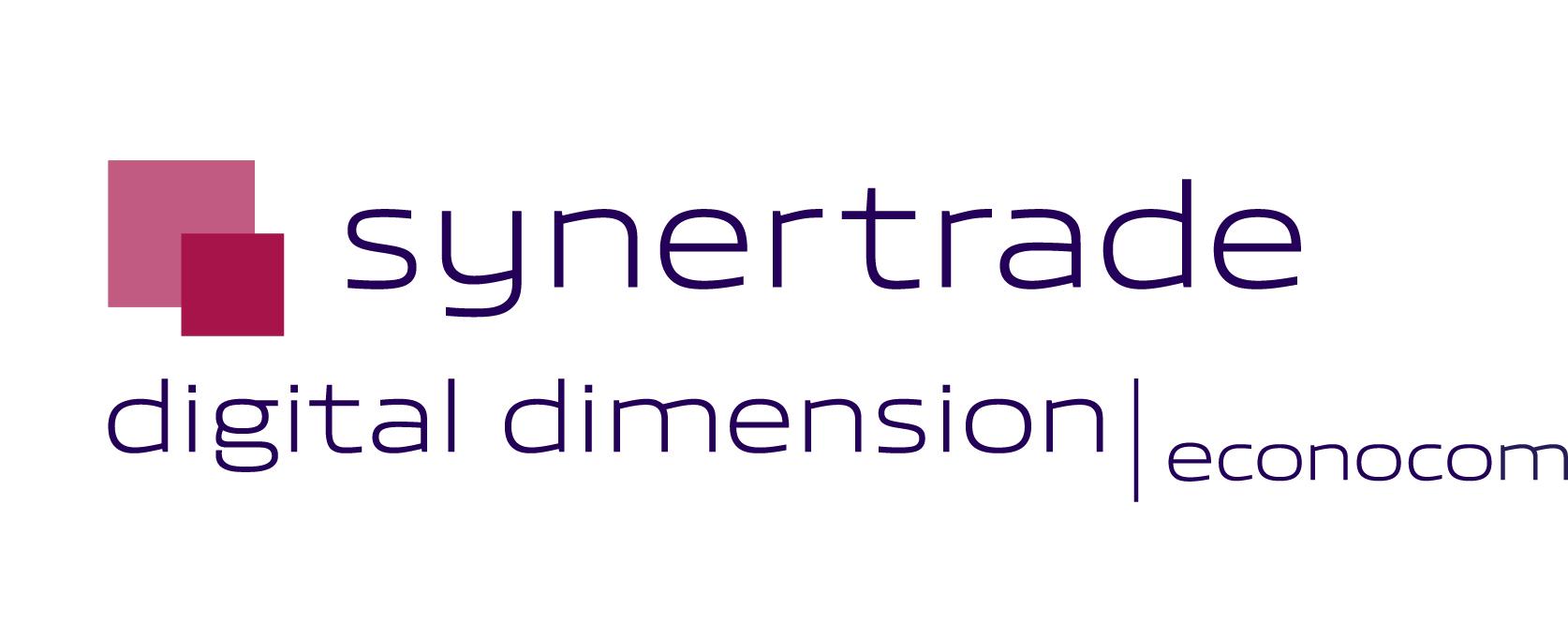 Logo synertrade bleu rvb hd